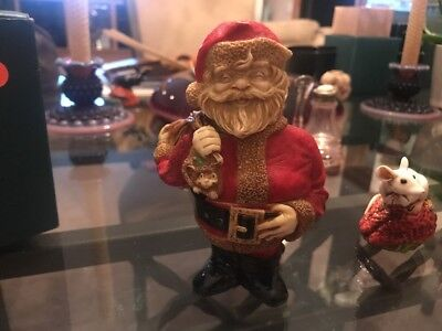 Neil Eyre Previous Harmony Kingdom Artist Santa And Mrs All In One 2/35 Limited