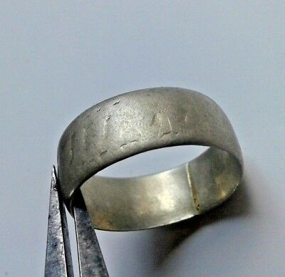 EXTREMELY ANCIENT SILVER LEGIONARY ROMAN RING **AMAZING** wedding silver ring