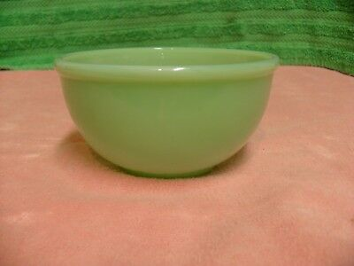 Vtg Fire King Oven Ware Jadeite Jadite Bowl Soup Salad Cereal Dessert Excellent
