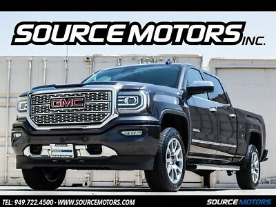 Sierra 1500 Denali 2016 GMC Sierra 1500 Denali Crew Cab Pick up, Navigation, DVD, Camera, Moonroof