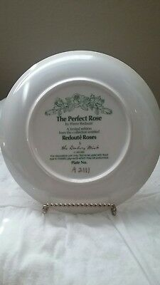 The perfect rose plate from the Danbury Mint