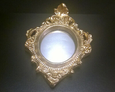 Vintage Italian Florentine Mirror Hollywood Regency