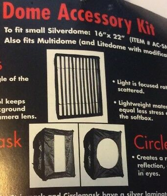 Photoflex AC-SMKIT Dome Accessory Kit Small Silverdome, Multidome, Litedome NIP