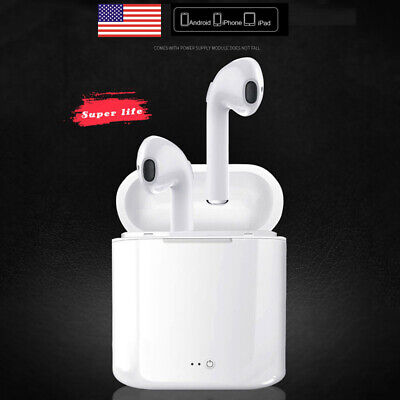 For Apple iPhone6 7 8 X Android Wireless Bluetooth Earbuds Headphone Earphones