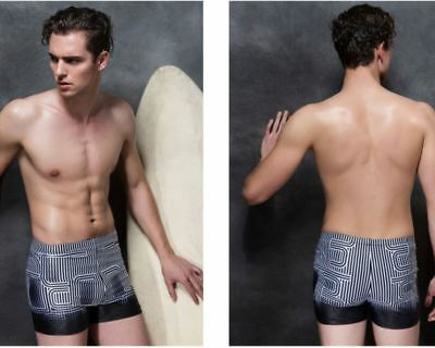 9a9f940eb67 Men's Sport Surfing Shorts Bather Swimwear Swimming Trunk Jammer Tight  Swimsuit