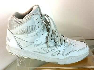 Reebok Men s Royal BB4500 Leather High-Top Basketball Shoes Size 11 White b6d82bb1c