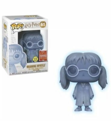 Funko Pop! Harry Potter Moaning Myrtle #61 2018 SDCC Shared Exclusive *PRE-SALE*