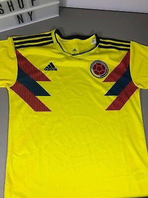 15c7e15bb ADIDAS MEN S COLOMBIA Home Jersey World Cup 2018 CW1526 -  54.99 ...