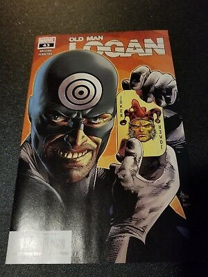 Old Man Logan #43  Hot Book First Appearance Of Shadow Tracer Nm  Wolverine