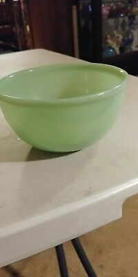 Fire King Jadite mixing bowl 6""