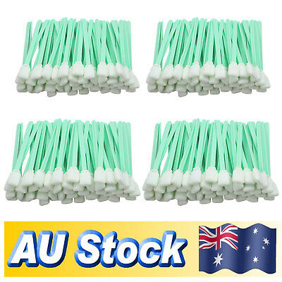 200Pcs Solvent Foam Cleaning Swabs For Roland Mimaki Epson Format InkJet Printer