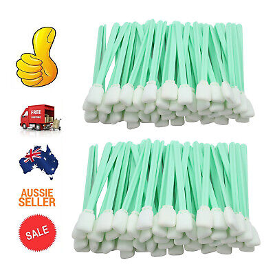 100X Solvent Foam Cleaning Swabs For Roland Mimaki Epson Format InkJet Printer