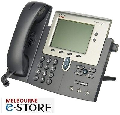 Cisco 7942 Unified IP Phone Telephone Ethernet PoE LCD Display