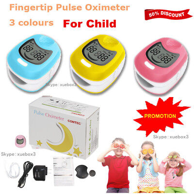 Fingertip Kids Use Child /Pediatric Finger SpO2 PR Pulse Oxygen oximeter CONTEC