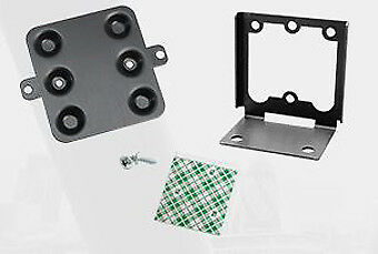 Rfideas, Black Angle Mounting Bracket For A Pcprox Reader To Be Mounted Vertical