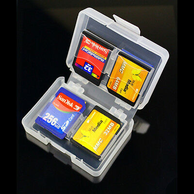 Hot*8 in 1 SDHC SD Memory Card Case Holder - Hard tective Box for-16gb/32gb R7G6