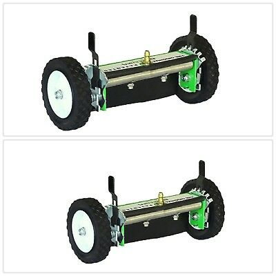Pressure Washer Attachment Cleaning Flat Surfaces 12 in. Wheels Rolling Snap On