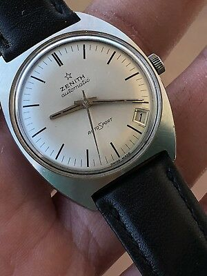 91b09593a81 Vintage Watch Orologio Zenith Sporto Automatic 2552pc Top Condition Stunning