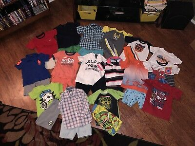 Boys SUMMER Clothing LOT (29 Piece)size 4T