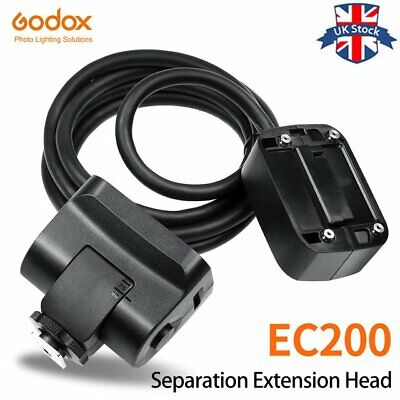 UK Stock !Godox EC200 1.85m Hot shoe Remote Separation Extension Head for AD200