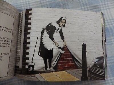 BANKSY   superb guide to his street art in London : illustrated guide with maps