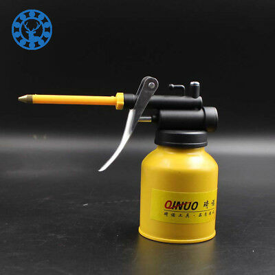250g Paint Spray Gun Oil Pump Cans Oiler Hose Grease Machine