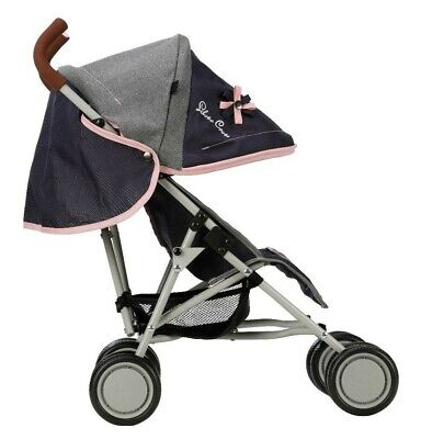 Silver Cross Pop Dolls Pushchair - Vintage Blue Fabric