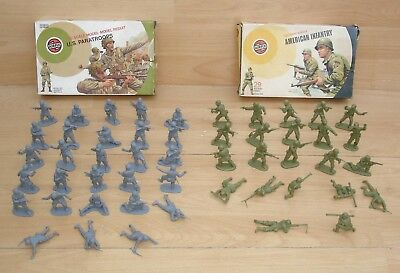 1:32 Airfix - American Infantry 1973 & Paratroops 1976