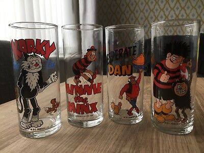 Vintage Beano And Dandy Glasses