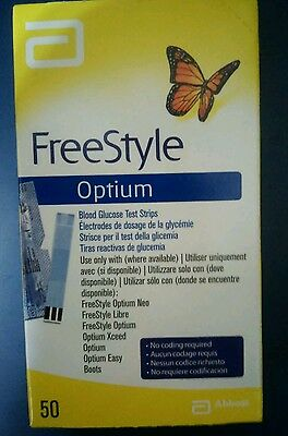 "Tiras reactivas ""FreeStyle"" Optium."