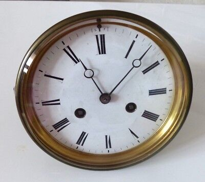 Large Antique 5.5 Inch French AB Clock Movement – Spares / Repair