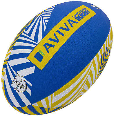 Clearance New Gilbert Rugbyy Aviva Premiership Supporter Ball Size 5