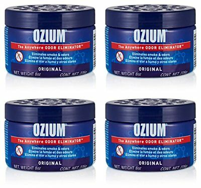 Ozium Smoke Odor Eliminator 8oz 226g Gel For Home Office And Car