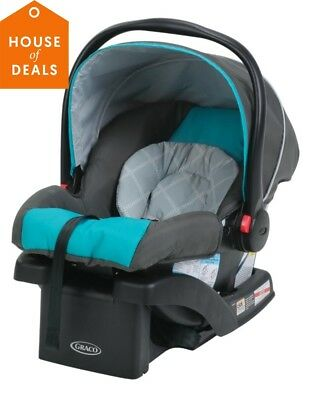 Graco SnugRide Click Connect 30 Infant Baby Safety Car Seat with Base Finch