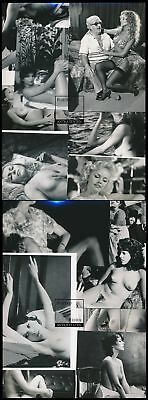 102 Fotos ca. 1980 Akt-Model´s nackte Frauen Erotik-Filmszenen Sweet Nude Girls