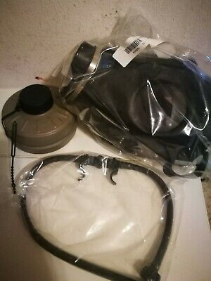 Israeli Gas Mask NBC - Military Issued + Drinking Tube - SEALED - Preppers MUST!