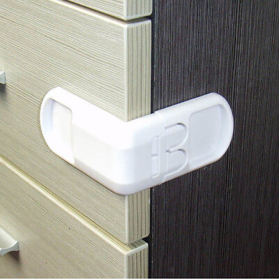 Blesiya Flexible Plastic Child Kids Baby Saftety Lock Latch Cupboard 7cm-b