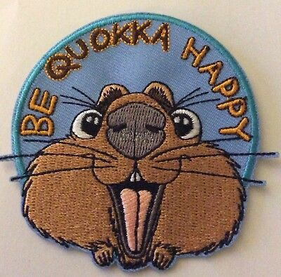Be Quokka Happy Fun Iron On Patch Buy 2 We Send Three Of These