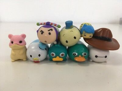 Joblot Miniature Disney Tsum Tsum Miniatures Collectible Blind Bag Toys