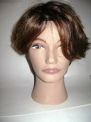 Pivot Point 100% Human Hair Mannequin Head Erika Best For Color Cut Style 2115
