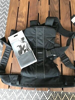 Baby Bjorn One Carrier (black, only used a couple of times)