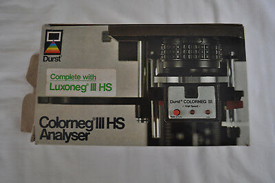 Durst Colorneg III HS colour analyser complete with box and instructions