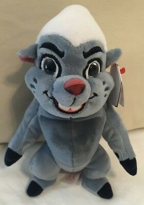"""2016 TY Disney Lion King Bunga The Lion Guard Plush Toy 8"""" New With Tags"""