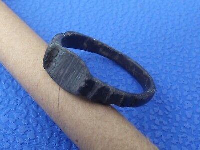 Antique Medieval Ancient Bronze ring