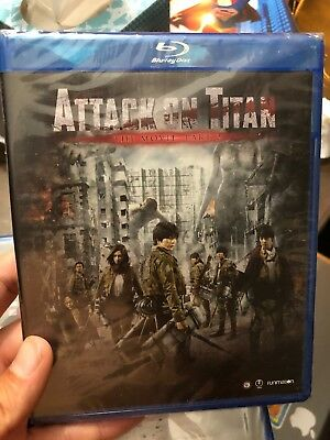 Attack on Titan Movie: Part 2 (Blu-ray/DVD Combo + HD UV) NEW! SEALED!