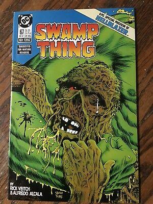 Swamp Thing #67; 12 Pics; Hellblazer/Constantine Preview; Nice Solid Cover