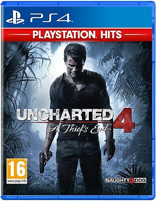 Uncharted 4 A Thief's End HITS Range (PS4) Free UK Postage UK New & Sealed