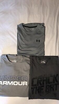 Lot of three mens Under Armour T-Shirts size XL