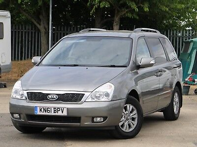 Kia Sedona 2 Crd 61 Plate (2011) 7 Seats, Electric Sliding Doors, Tow Bar Fitted