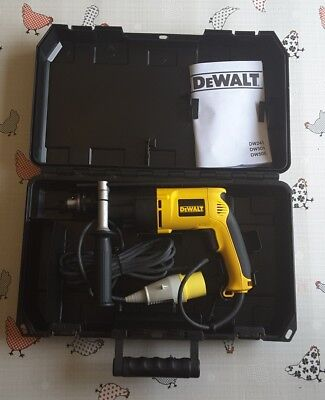 DeWalt DW505KL 110V Percussion Drill 13MM 701W with case